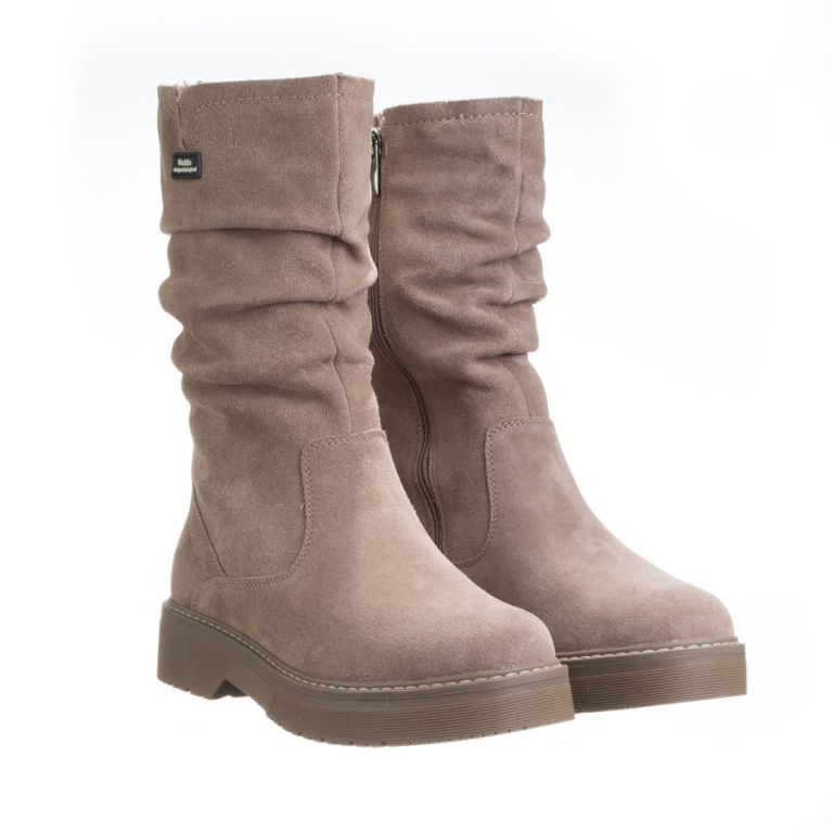 Keddo_camel_womens_boots Κάμελ