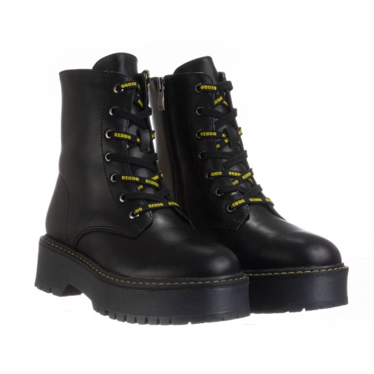 Keddo_black_womens_boots Μαύρο