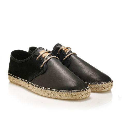 Mens leather shoes Black