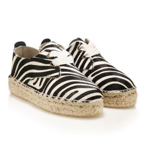 Women's espadrille (Αγγλικά) Zebra