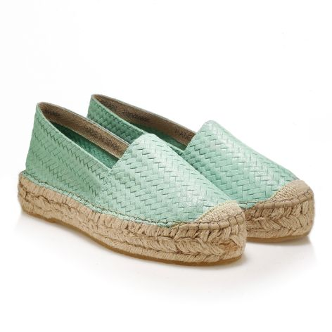 Palm Tree Womens espadrille Πράσινο