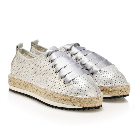 women's casual shoes (Αγγλικά) Silver