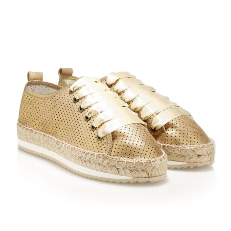 women's casual shoes (Αγγλικά) gold