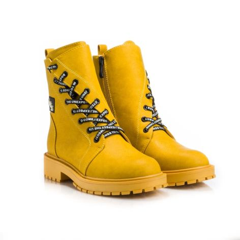 Betsy_yellow_womens_ankle_boot Κίτρινο