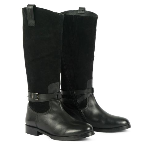 Dazzle riding boots Black