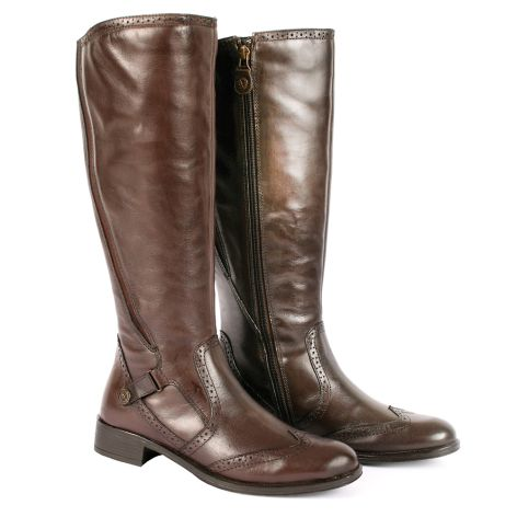 Donna Donati riding boots Brown