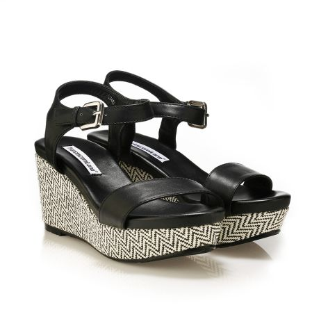 FrancescoMilano women's platforms Black