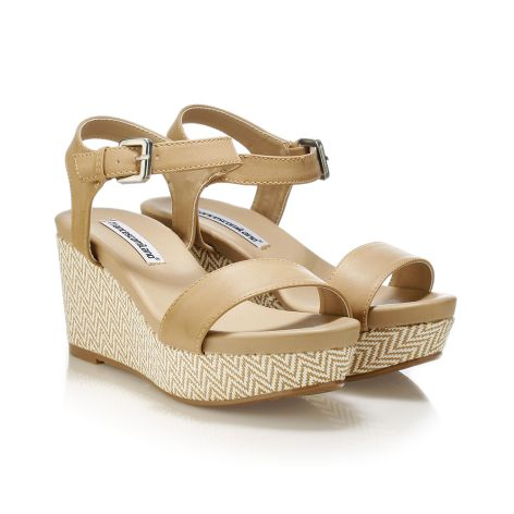 FrancescoMilano women's platforms Tan