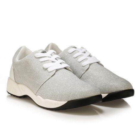 FrancescoMilano women's sneaker Silver