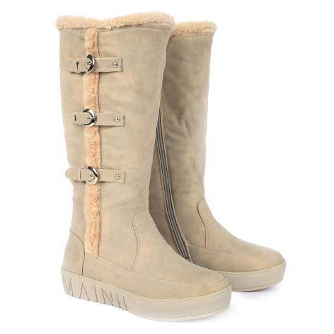Gloria boots Cream