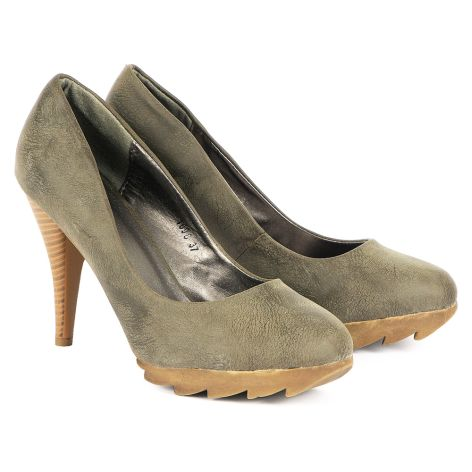 Gloria pumps Taupe