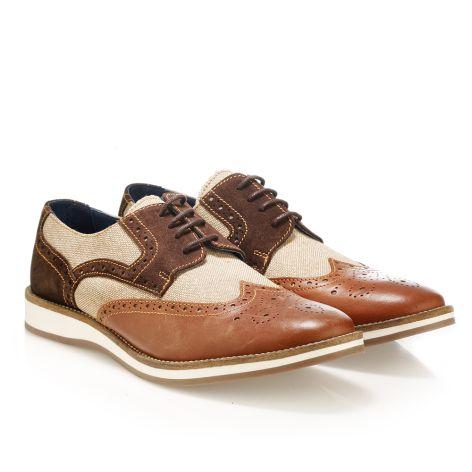 JackMorgan smart shoe Καφέ