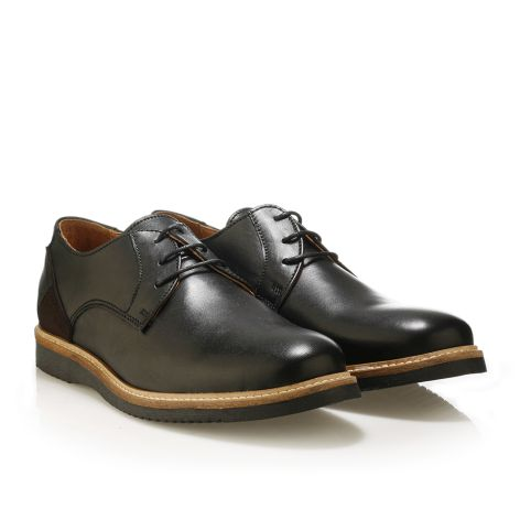 Jack Morgan leather black shoes Black