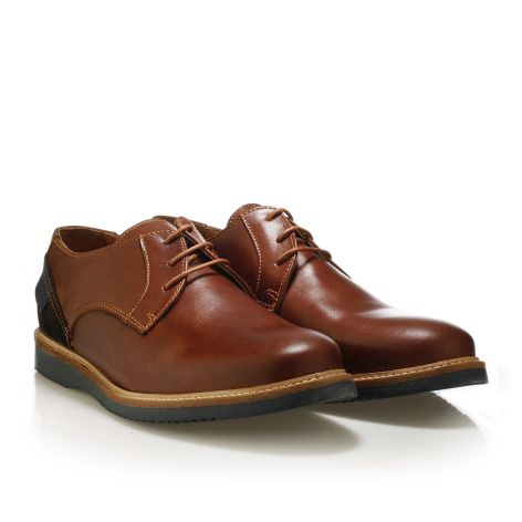 Jack Morgan leather shoes in cognac Cognac