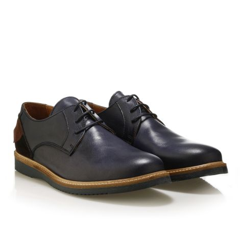 Jack Morgan leather shoes in navy  Navy