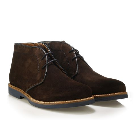 Jack Morgan δερμάτινο παπούτσι σε καφέ Καφέ
