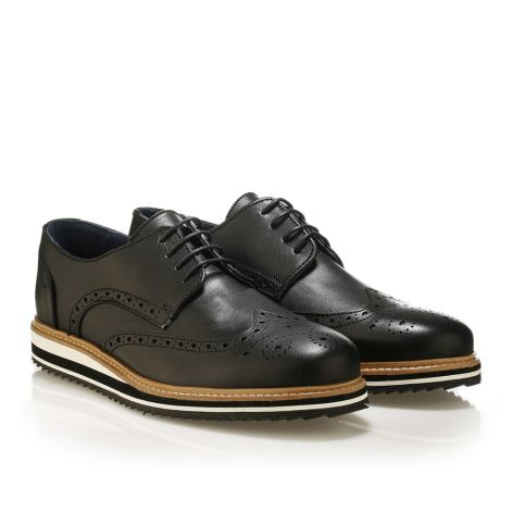 Mens' brogues shoes Jack Morgan  Black