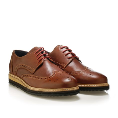 Mens' brogues shoes Jack Morgan   Tan
