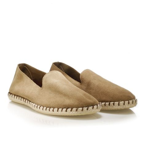 Koyuk leather espadrilles Beige
