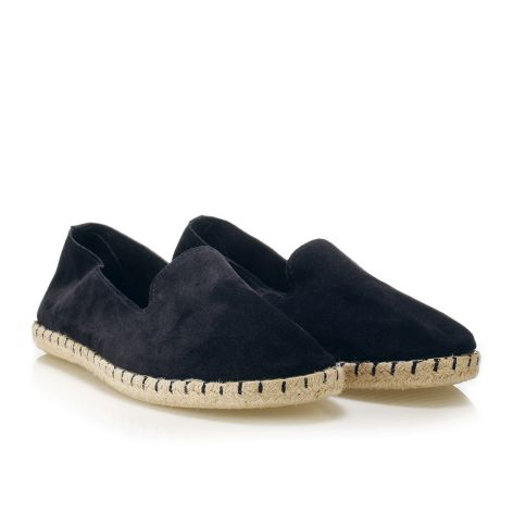 Koyuk leather espadrilles Navy