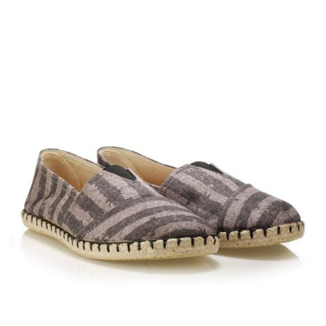 Koyuk men's espadrilles made of fabric Grey