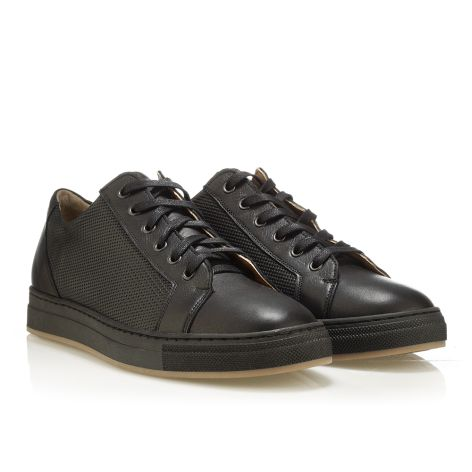 MarioDonati men's sneakers Black