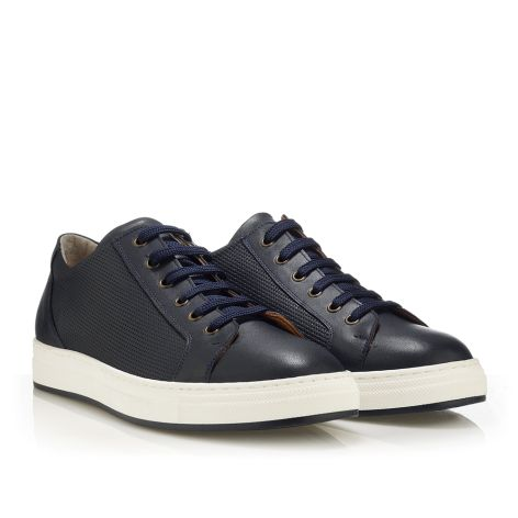 MarioDonati men's sneakers Navy