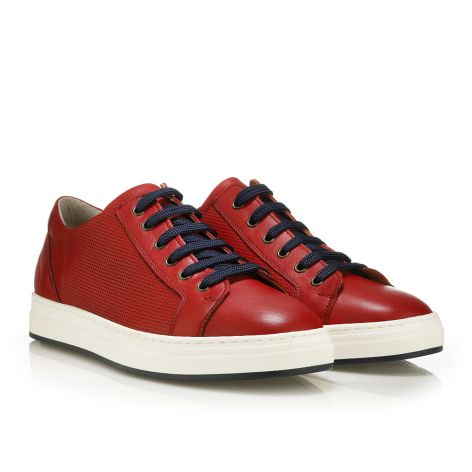 MarioDonati men's sneakers Red