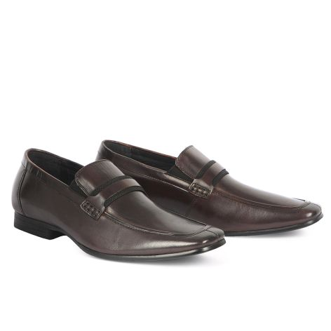 Mario Donati men's dress loafers Brown