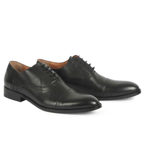 Mario Donati oxford shoe Black