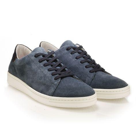 Mario Donati καστόρινα sneakers Μπλε