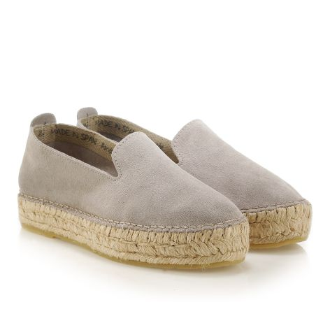 Women's espadrille Grey