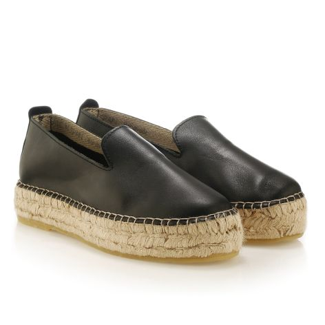 Women's espadrille Black