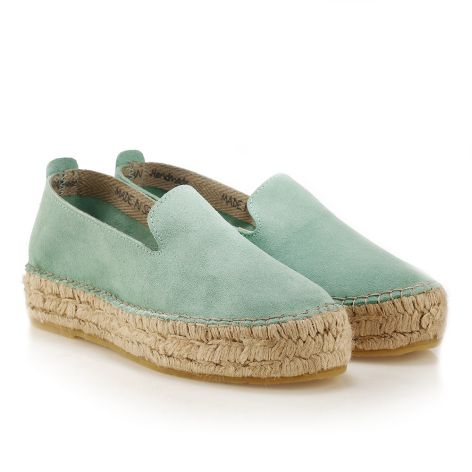 Women's espadrille Green