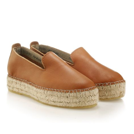 Women's espadrille Tan