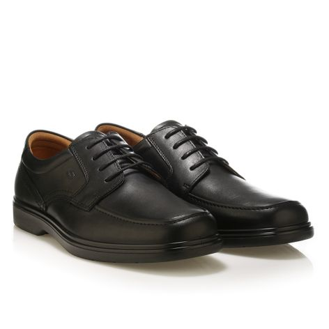 Soconfor leather shoes with laces Black
