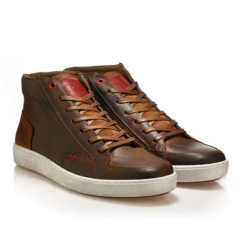 Urbanfly ψηλά sneakers  Κονιάκ