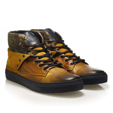 Urbanfly mens' sneakers  Yellow