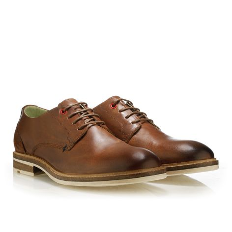 Urbanfly men's derbys Cognac
