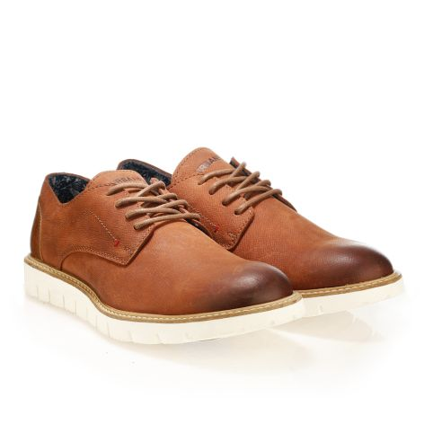 Urbanfly men's smart shoes Cognac