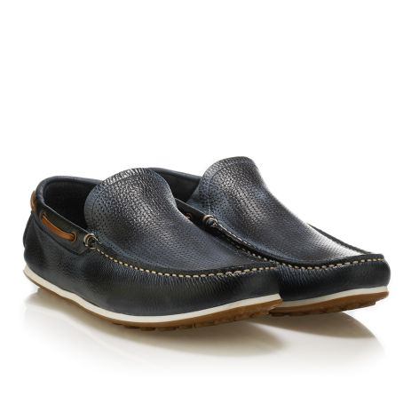 Urbanfly leather loafers Navy