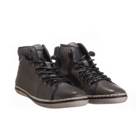 Ανδρικό sneaker Urbanfly Γκρι/Μαύρο