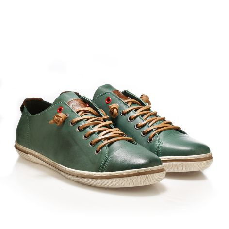 Urbanfly men's low-cut sneakers  Dark green