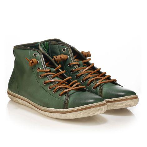 Urbanfly men's high-cut sneakers  Green