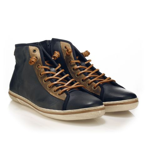 Urbanfly Men's high-cut sneakers Navy