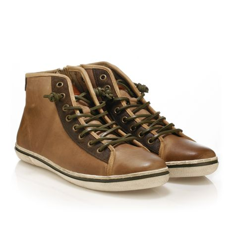 Urbanfly Men's high-cut sneakers Tan