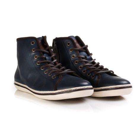 Ανδρικό sneaker Urbanfly Μπλε/Καφέ
