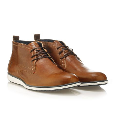 Youth Republic men's boots cognac