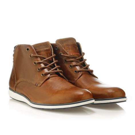 Urbanfly casual boots cognac