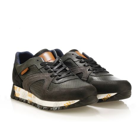 Youth Republic men's sneakers Black